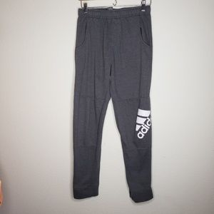Adidas Gray Jogger Sweat Pants